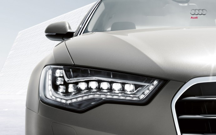 LG화학 배터리를 탑재한 Audi의 전기 자동차