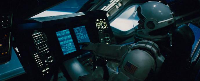 크리스토퍼 놀란의 인터스텔라 영화 속 우주선