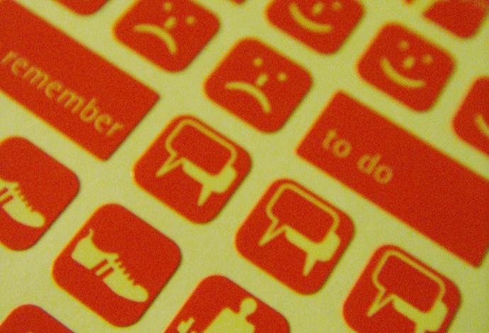 다양한 스티커 모음ⓒMyLifeStory, flickr.com