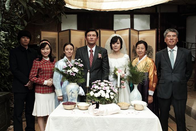 영화 <국제사진> 결혼사진 캡쳐