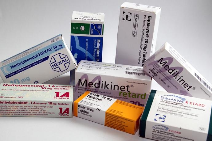 독일의 제약사들의 메틸페니데이트(Methylphenidate) 제네릭 의약품들