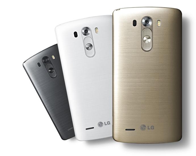 LG G3의 후면