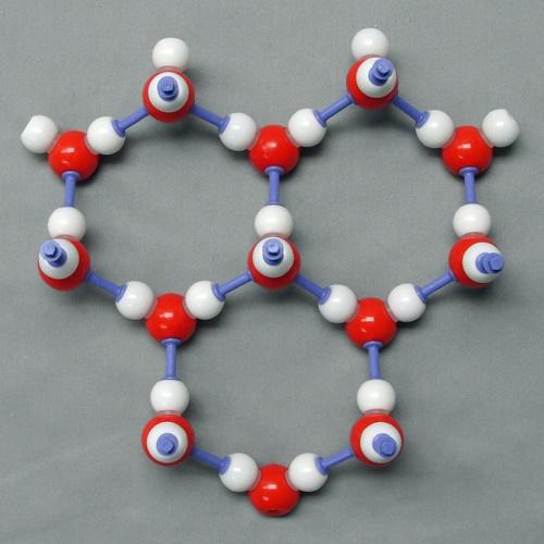 육각형 구조의 분자 모양