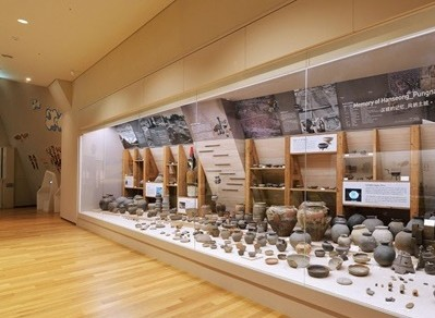 한성백제박물관 외부 및 내부 모습