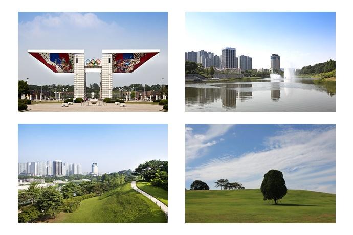 올림픽공원 풍경 사진