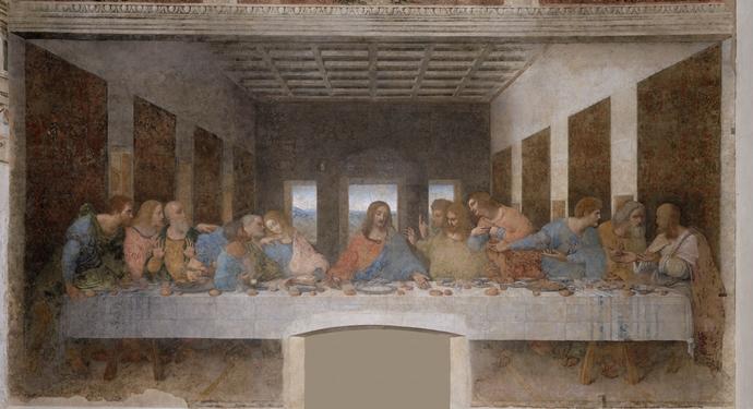 레오나르도 다 빈치의 작품 '최후의 만찬'