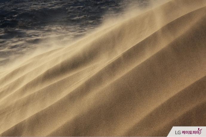 사막의 흙먼지