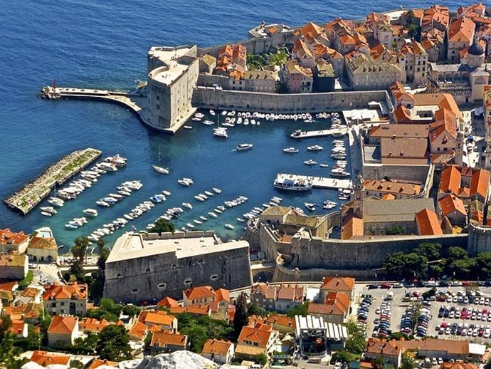 크로아티아의 도시 두브로브니크