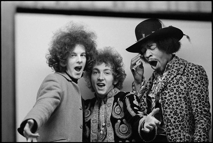 Jimi Hendrix Experience, London © 1967 Paul McCartney / Photographer: Linda McCartney