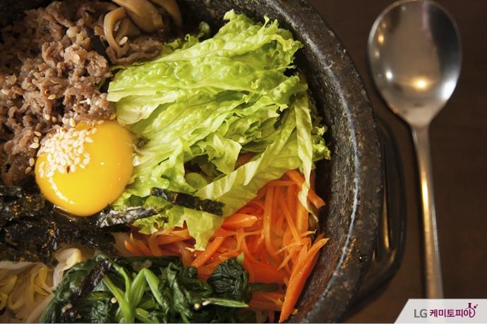 고추장이 들어가는 비빔밥