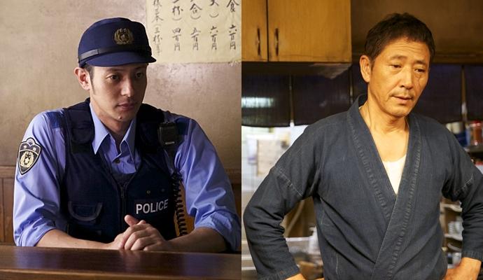영화 에 출연하는 오다기리 조와 코바야시 카오루 ⓒ네이버 영화