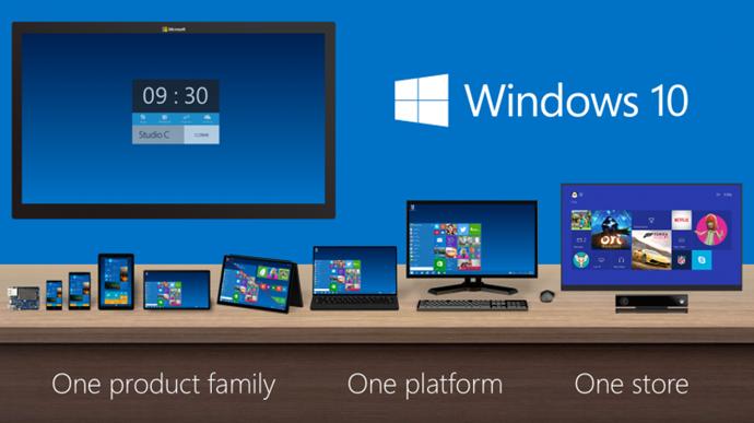 MS의 '하나의 윈도우' 전략ⓒMS
