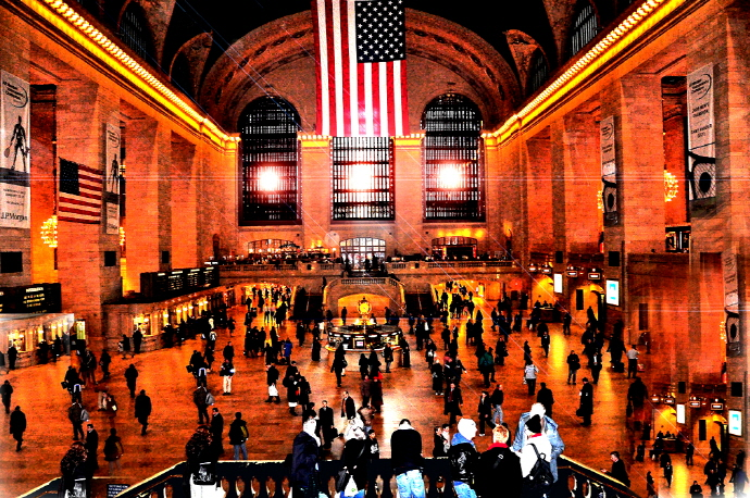 Grand Central Station in New York ⓒ daystar297, flickr.com