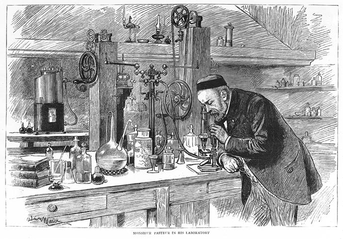 연구실의 파스퇴르©wikimedia