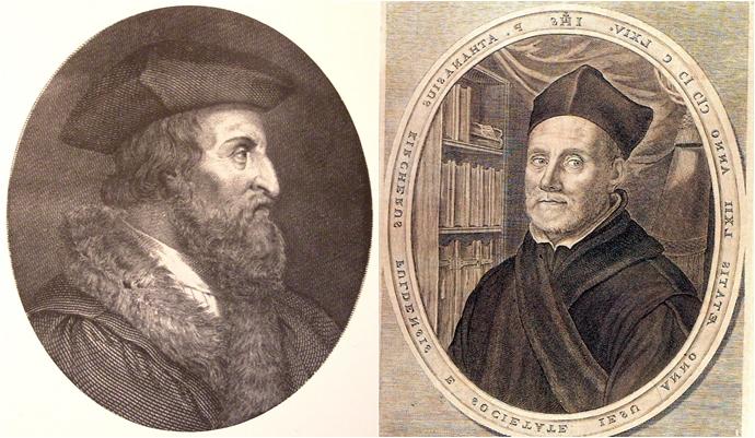 프라카스토로(좌)와 키르허(우)©wikimedia
