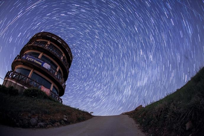 별의 일주ⓒ문경 천문대 홈페이지