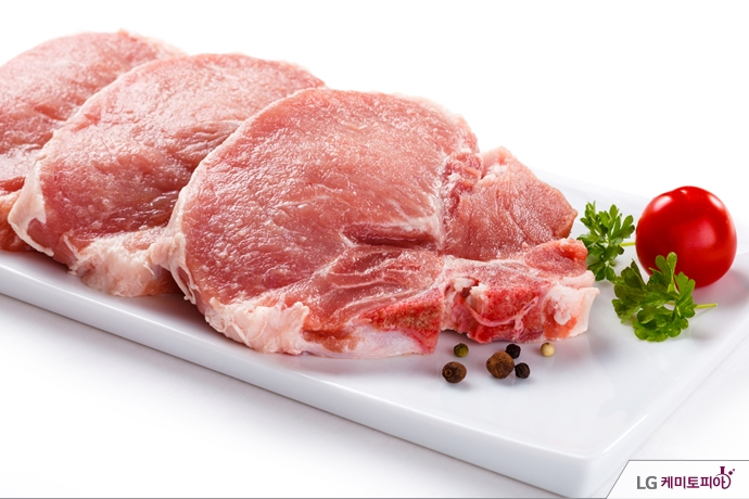 신선한 돼지고기