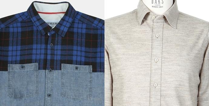 투톤 셔츠와 모 셔츠