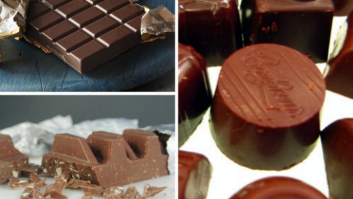 다양한 초콜릿이미지