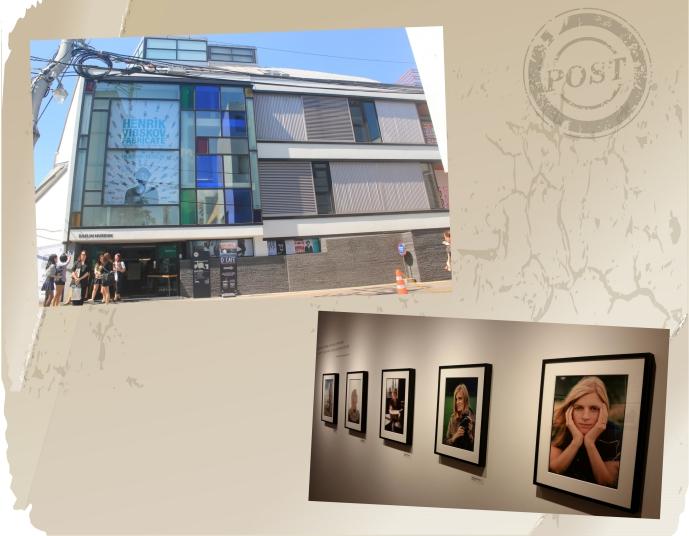 왼쪽은 대림미술관 전경, 오른쪽은 린다 매카트니 전
