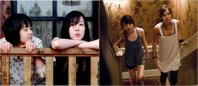 (왼쪽부터) 원작 '장화, 홍련', 헐리우드 리메이크작 '안나와 알렉스'ⓒ네이버영화