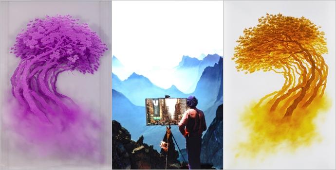 Ⓒ손봉채, 한국사립미술관협회 Korean Artist Project(www.koreanartistproject.com) 왼쪽부터-이주민 Migrants