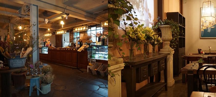 드볼비 카페의 내부 공간