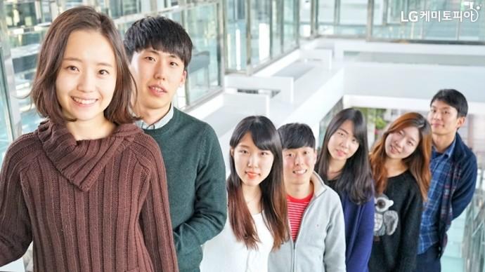 대학생 에디터 1기 단체사진