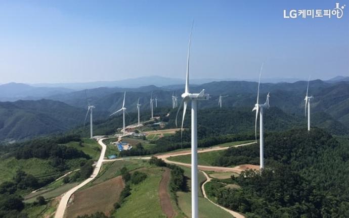 양양의 풍력을 기반으로 한 ESS 설비
