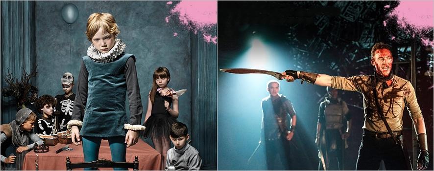 영국국립극장의 <햄릿>, <코리올라누스> NT Live 포스터ⓒ국립극장