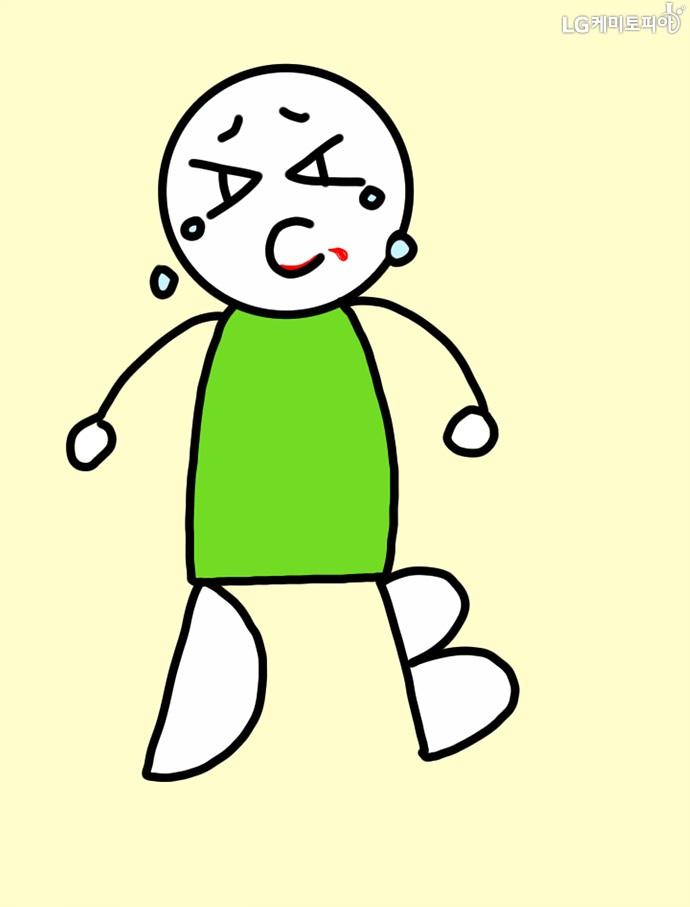 비타민A 부적은 야맹증, C 부족은 괴혈병, D와 B 부족은 구루병을 유발한다는 그림