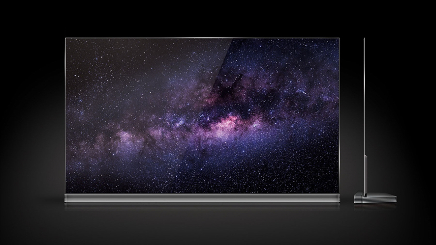 LG전자의 초(超)프리미엄 가전 'LG 시그니처' OLED TV