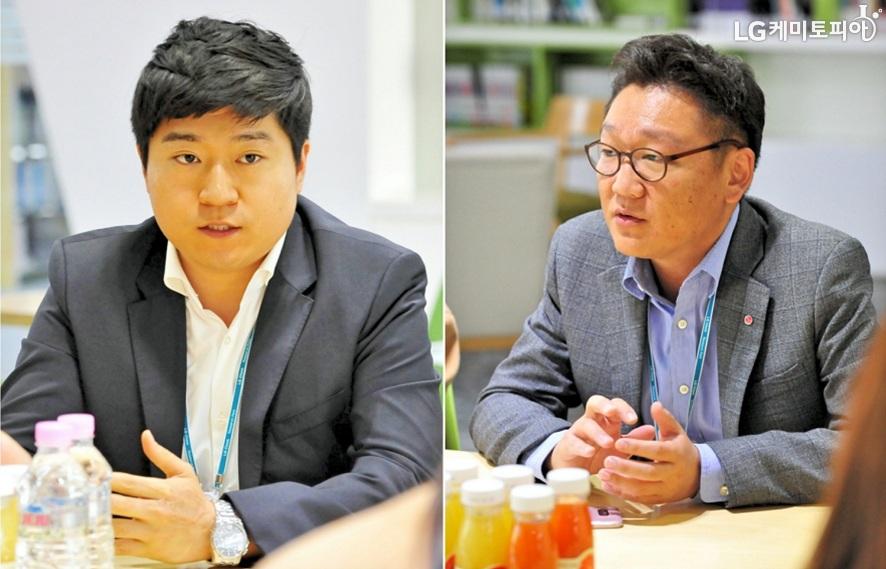 (좌) 이승준 대리 (우) 박성인 과장