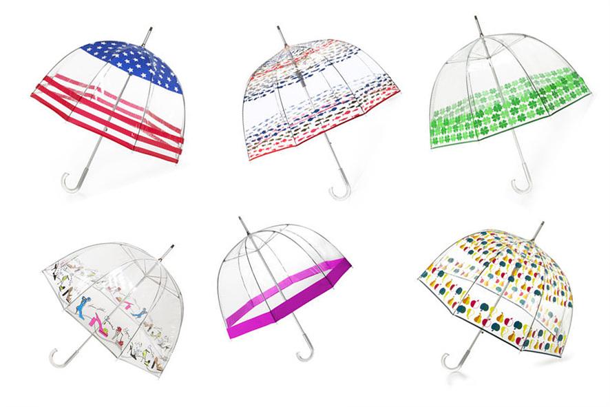 토스우산의 6가지 디자인 종류