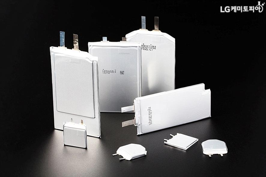 LG화학의 프리폼 배터리 모습