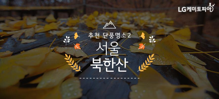 추천 단풍명소2. 서울 북한산