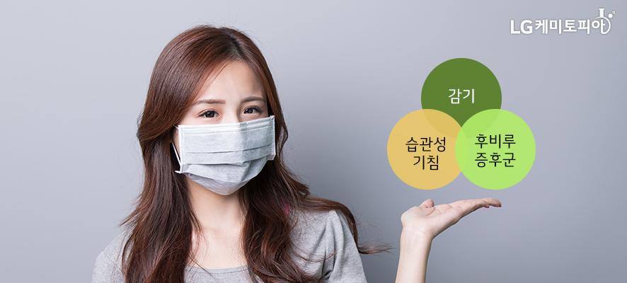 감기, 습관성기침, 후비루증후군