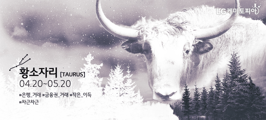 황소자리 [ Taurus ] 04.20~05.20 #은행거래 #금융권거래 #작은이득 #차근차근