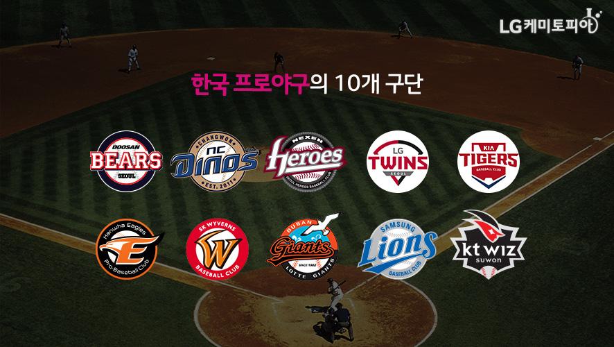 한국 프로야구의 10개 구단