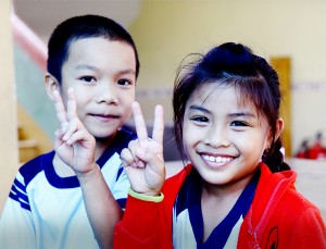 베트남 '희망 가득한 도서관' 문 열던 날