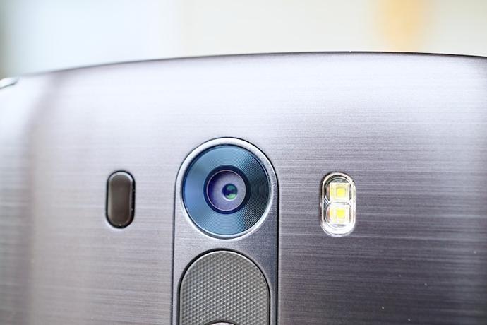 LG G3의 후면 카메라