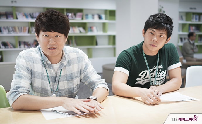 윤형석 대리와 김화중 사원