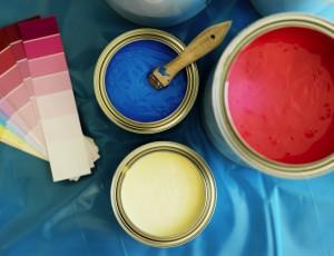 형형색색 페인트 도료 안에 화학 있다?