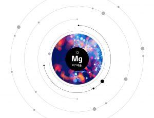 원자번호 12번 MG 마그네슘