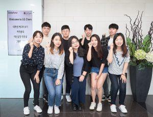대학생 에디터 6기 단체사진