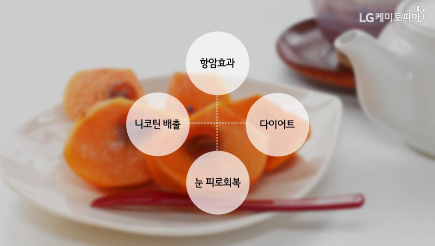 단감의 효능: 항암효과, 니코틴 배출, 다이어트, 눈 피로회복