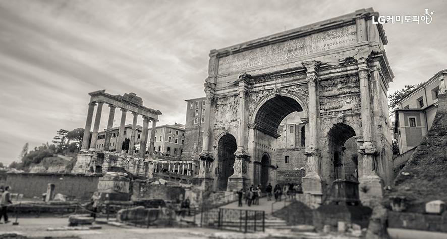 멸망한 로마 모습