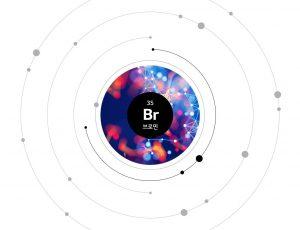 원자번호 35번 Br 브로민