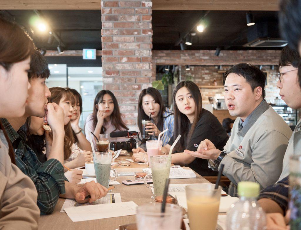 대산공장 선배와 대학생 에디터 7기가 만나다!