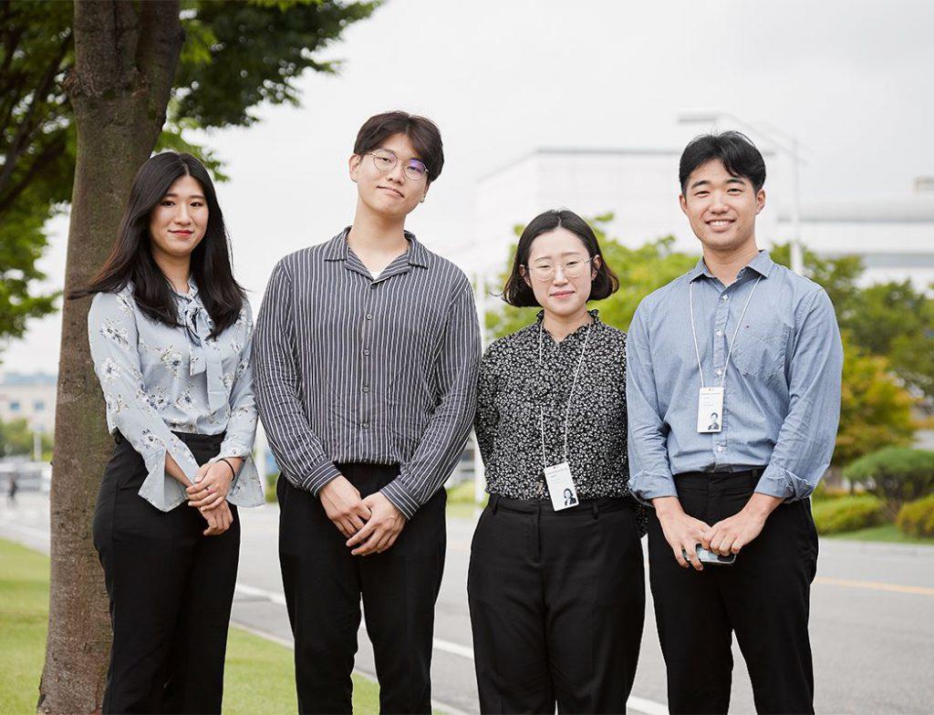 LG화학 신입사원 선배와 대학생 에디터 8기 사진